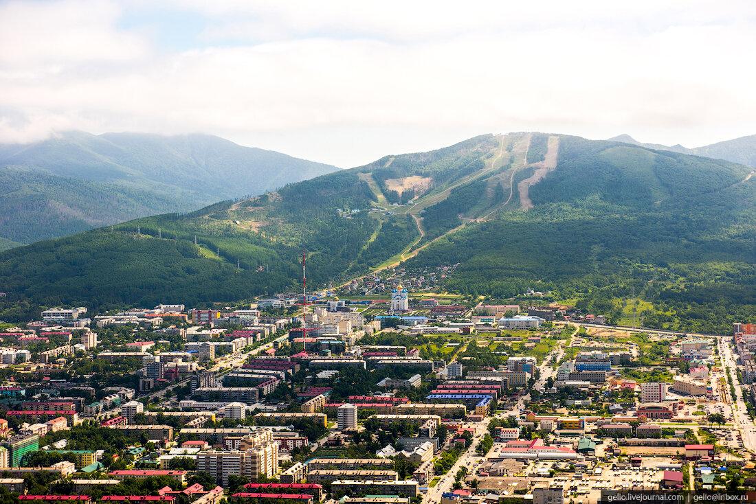 Южно сахалинск в картинках
