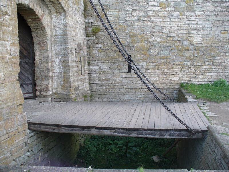 подъемные мосты замков картинки солянка