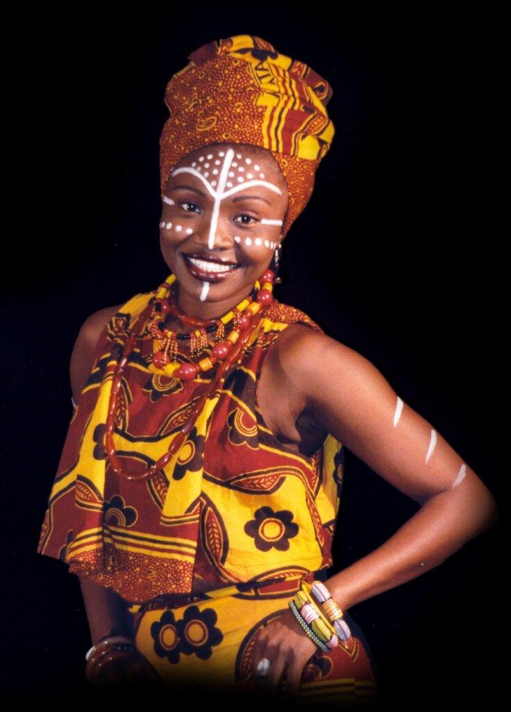 Африканский костюм фото