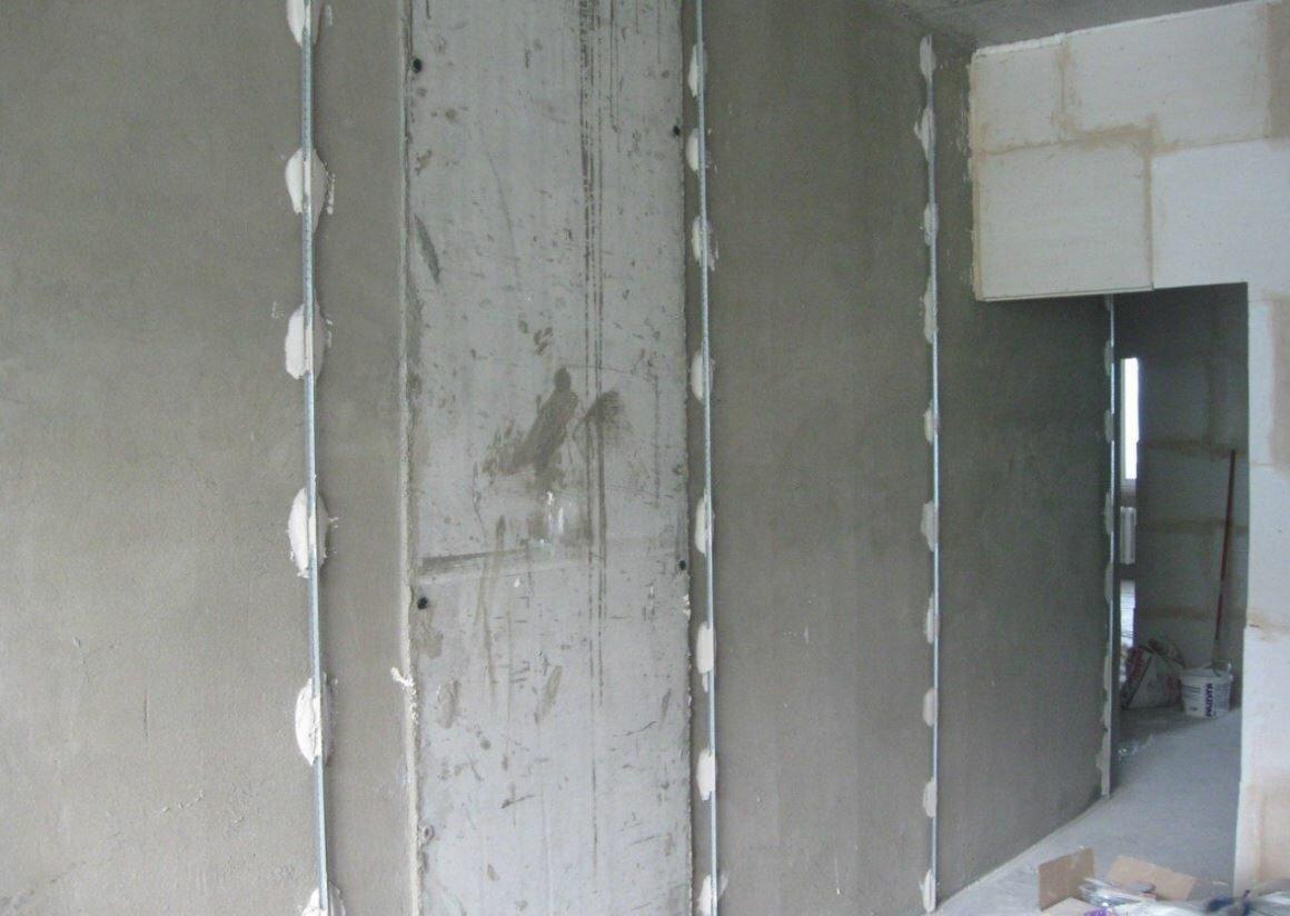выравнивание стен ротбандом цена за м2