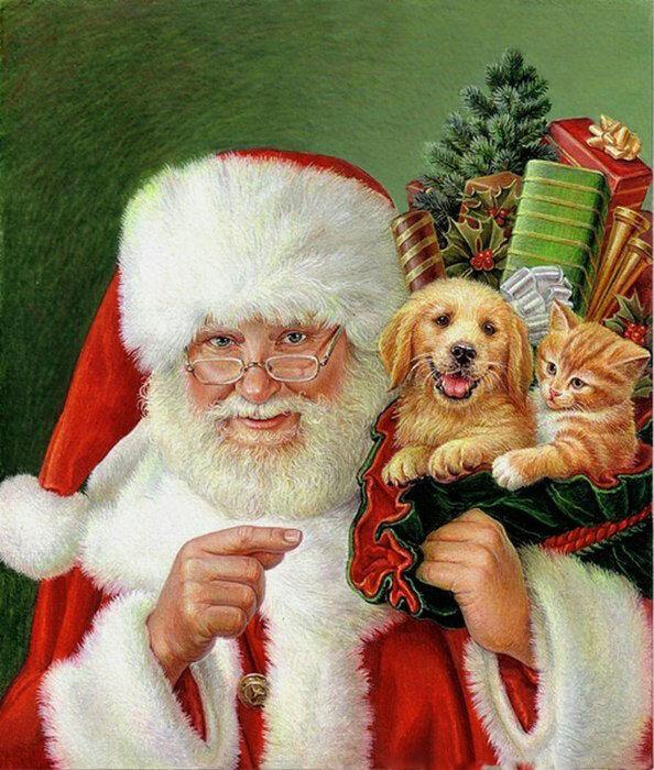 Прикольные фото открытки с рождеством