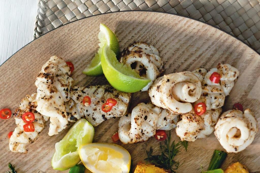 блюда из кальмаров рецепт с фото городке
