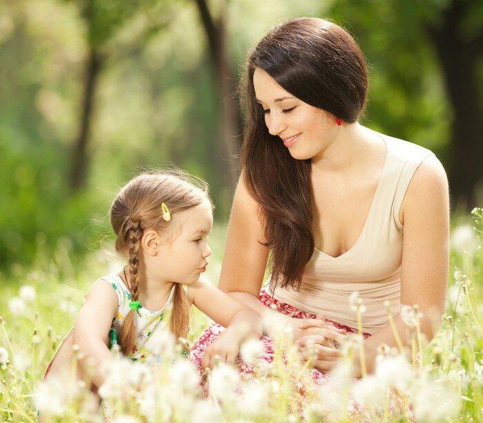 Мама с дочками картинки