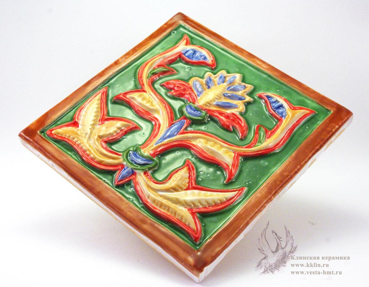 Картинки изразцы из пластилина