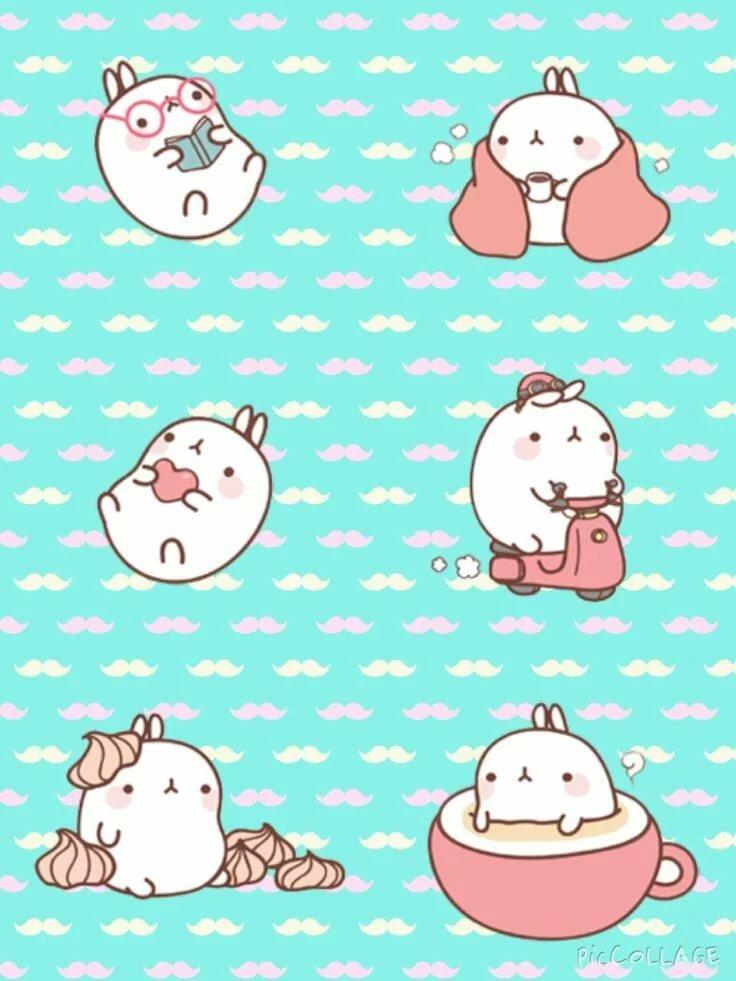 Кавайные картинки для распечатки кролики