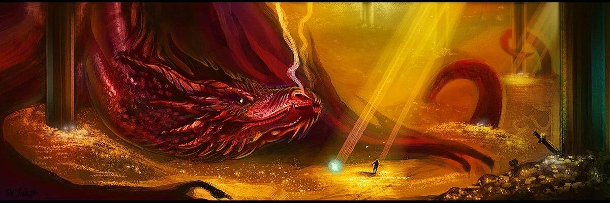 картинки пещеры с золотом драконе паре катерпиллером работает
