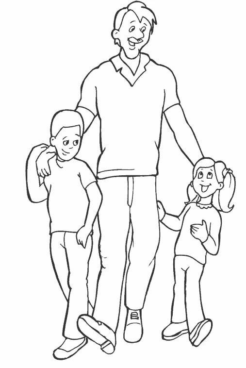 Красивые открытки, нарисовать открытку для папы с ребенком