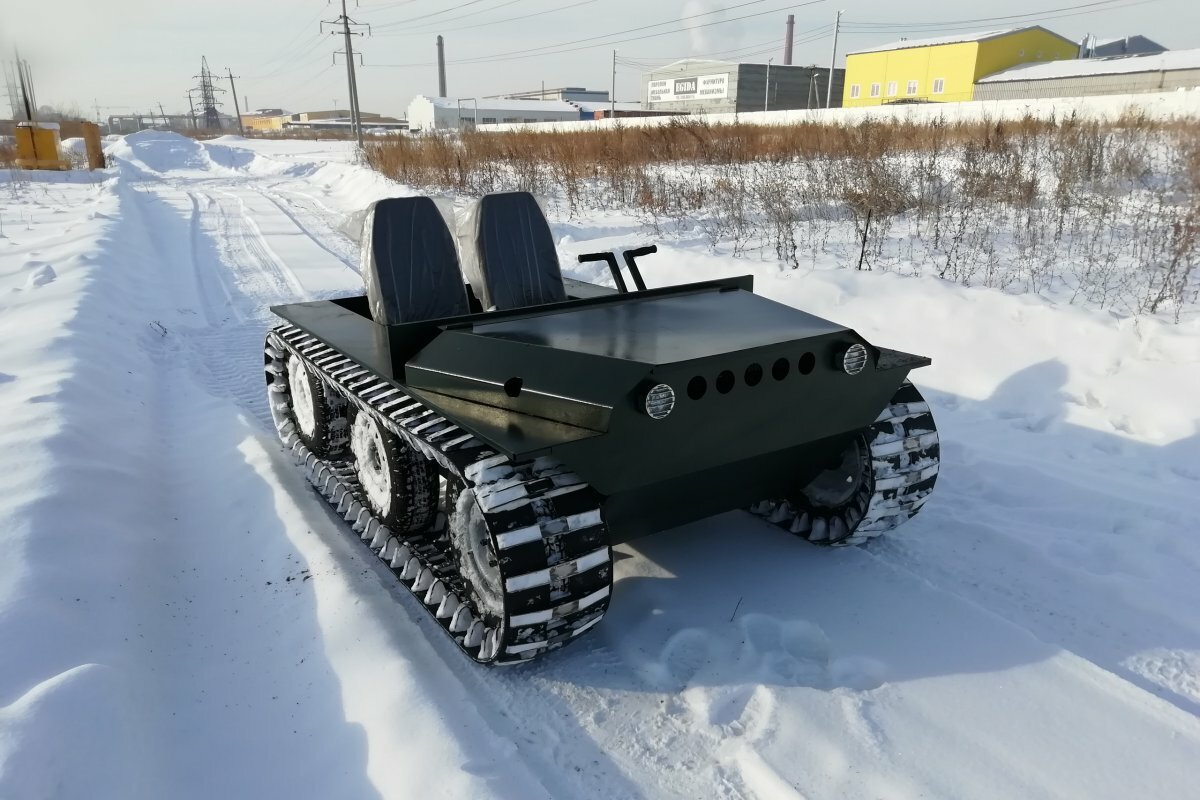 Болотоход Егоза Охотник-1