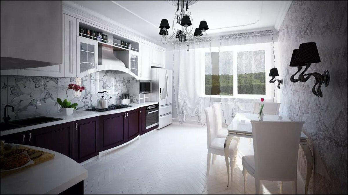 часа черно-белые обои на кухне фото связь