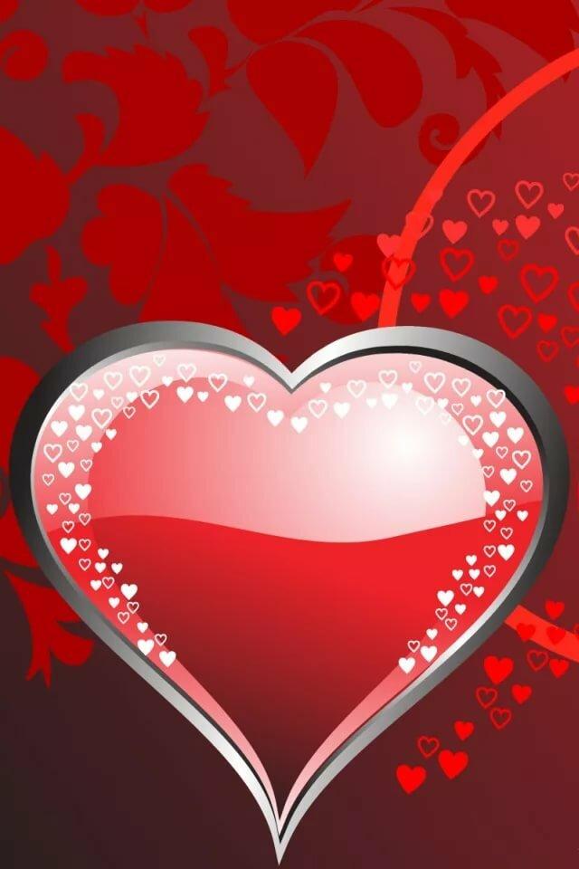 Анимации сердечки картинки на телефон