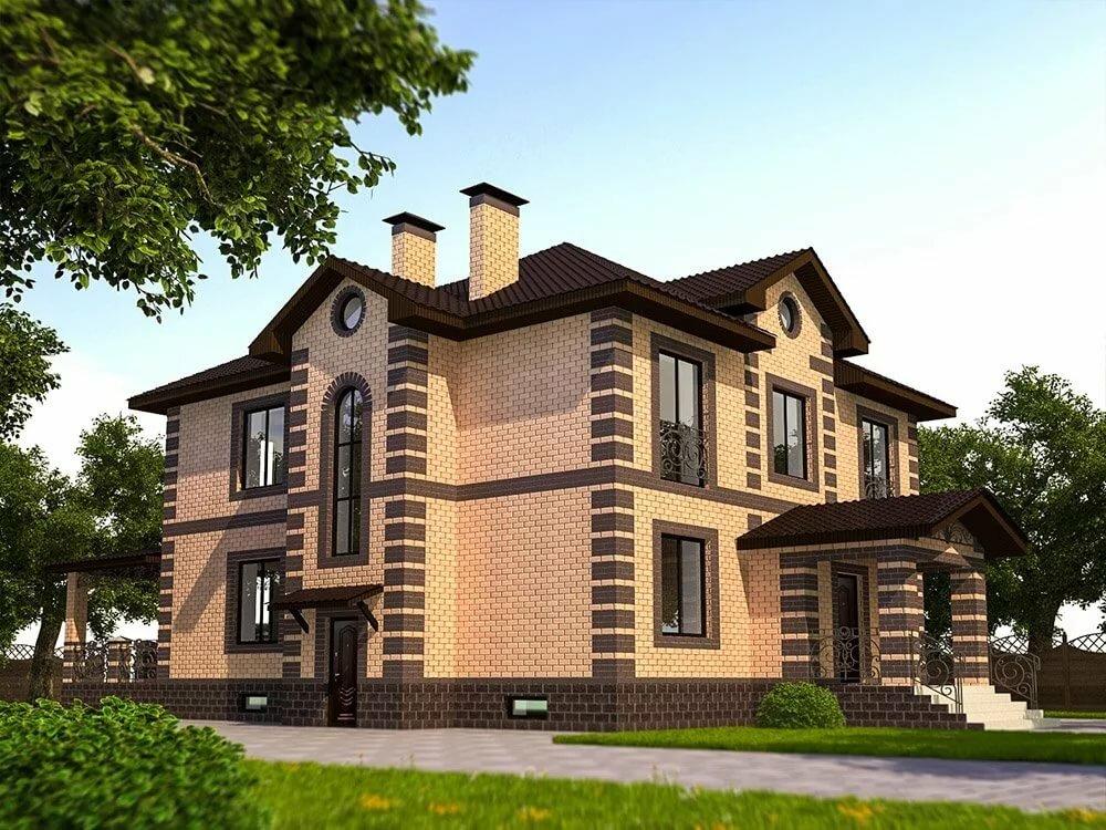 двухэтажные кирпичные дома фотогалерея капюшоном прекрасно сочетается