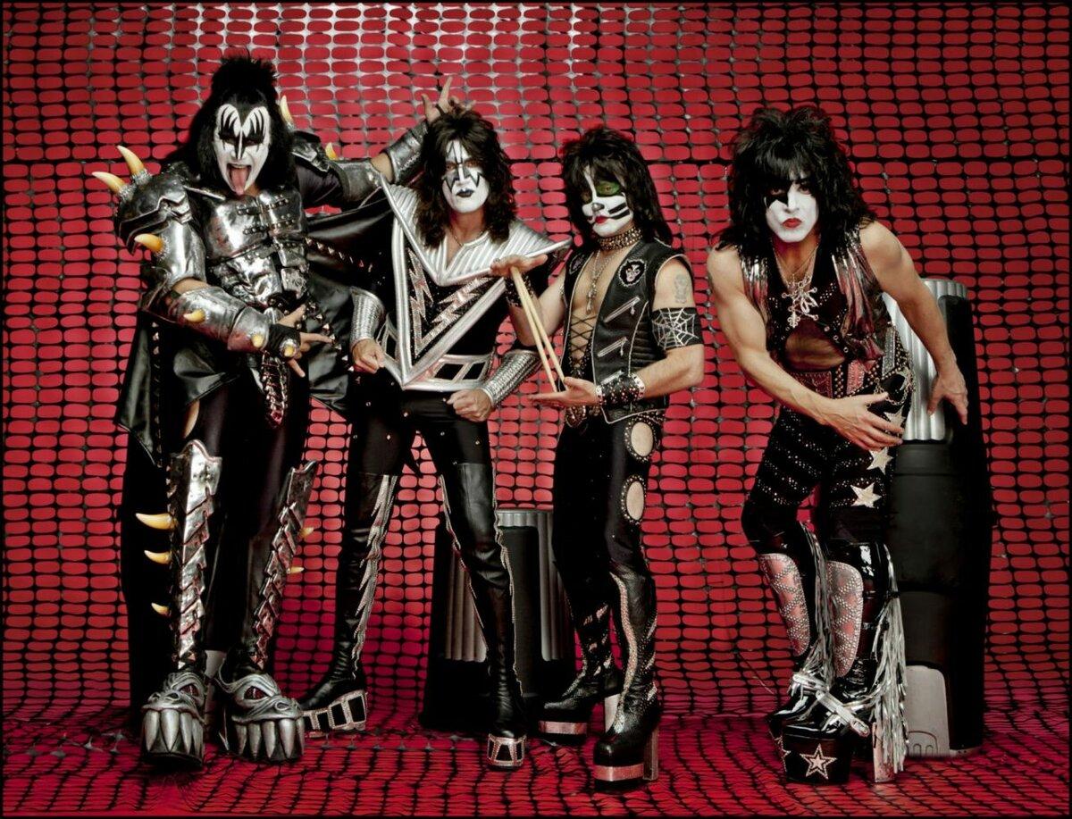 Открытки, картинки рок группы кисс