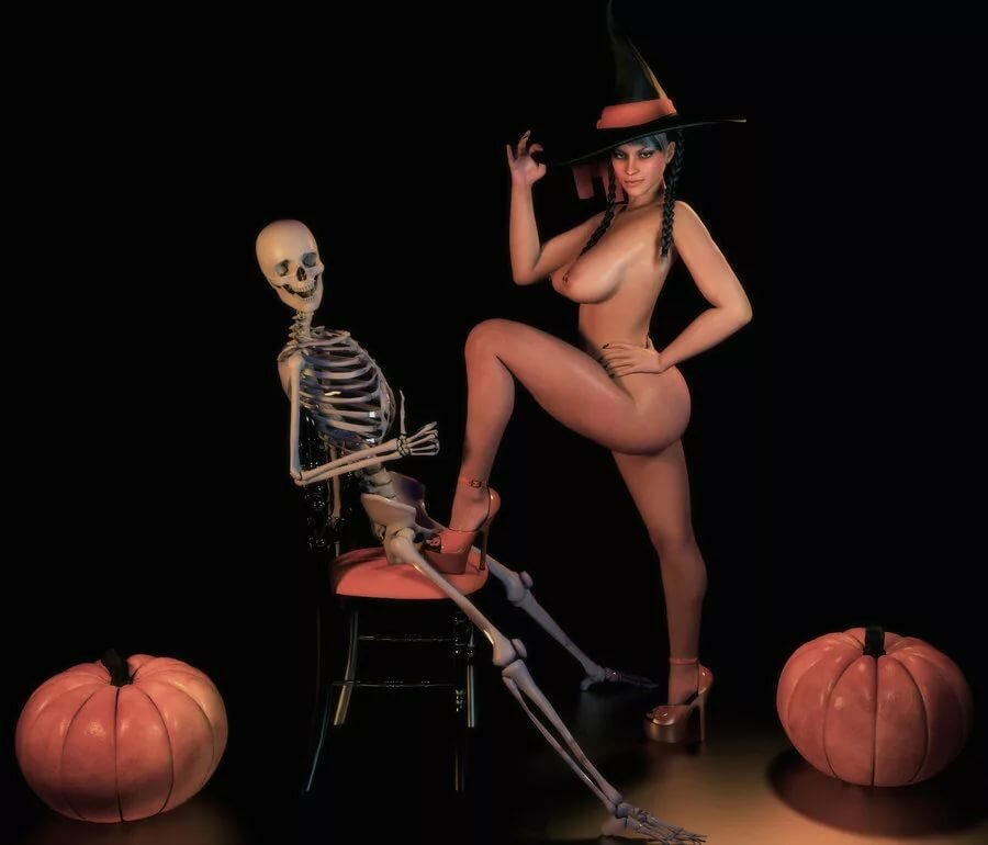 Halloween sexy witch porn, muslim fucking video scene
