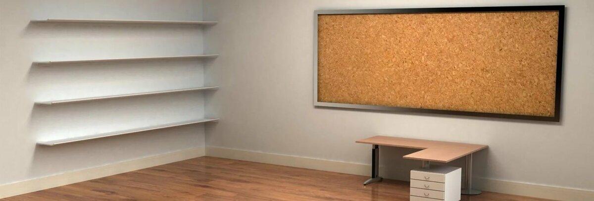 картинка со столом и полкой простая девушка