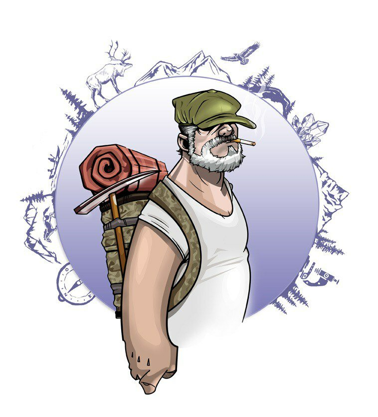 Открытки геолога, гиф днем