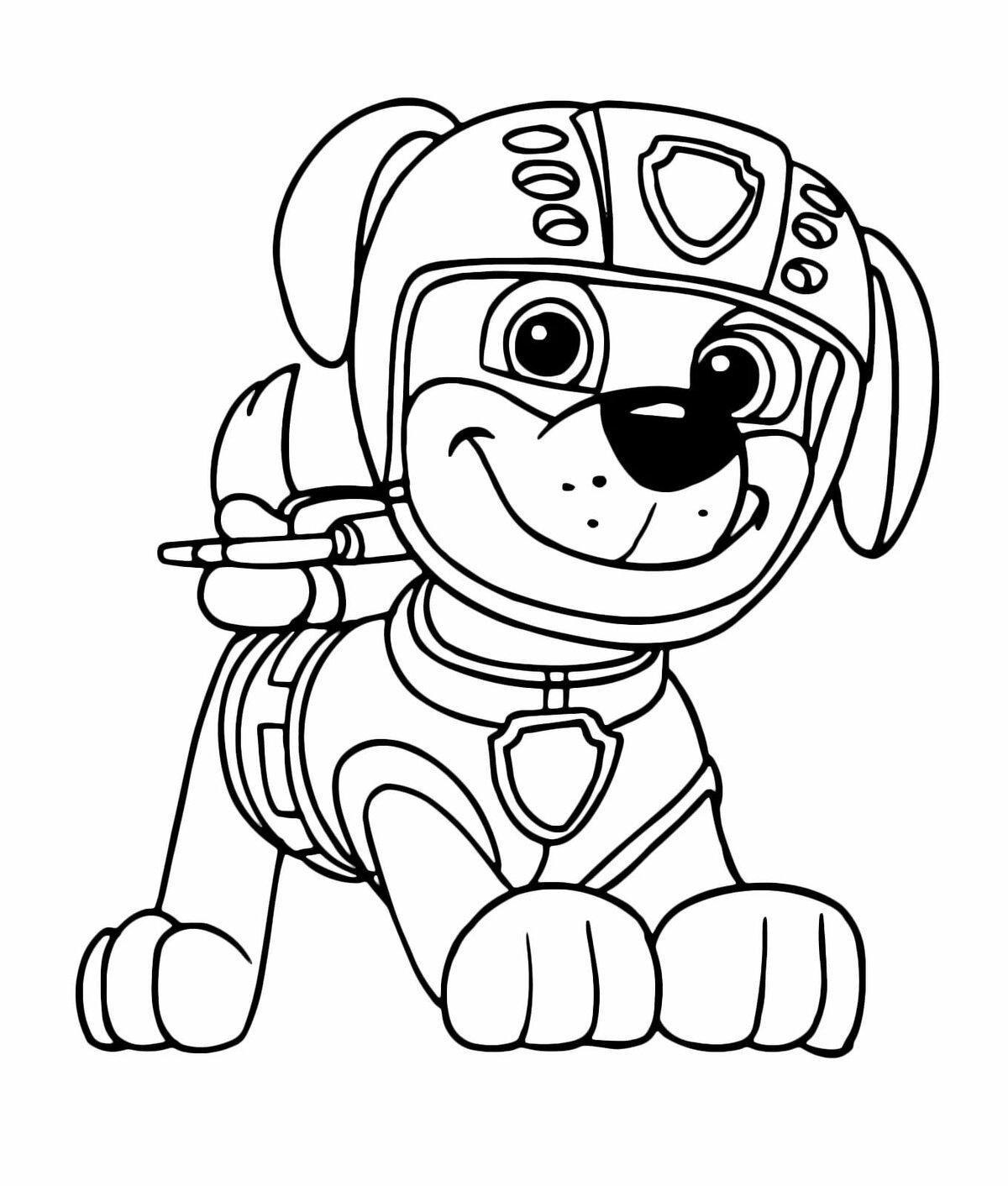 картинки собачий патруль распечатать