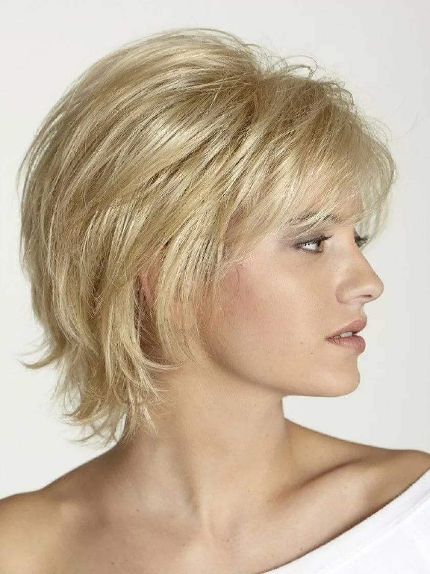 Каскадные стрижки на короткие волосы фото