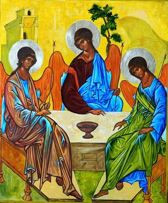 Картинки троицы рублева