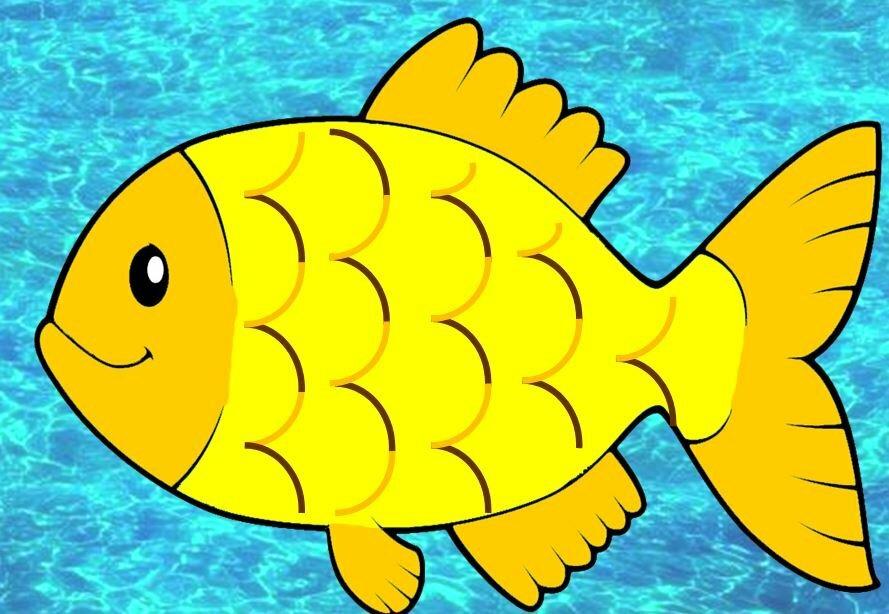 всего картинка рыбы нарисовать сможете увидеть