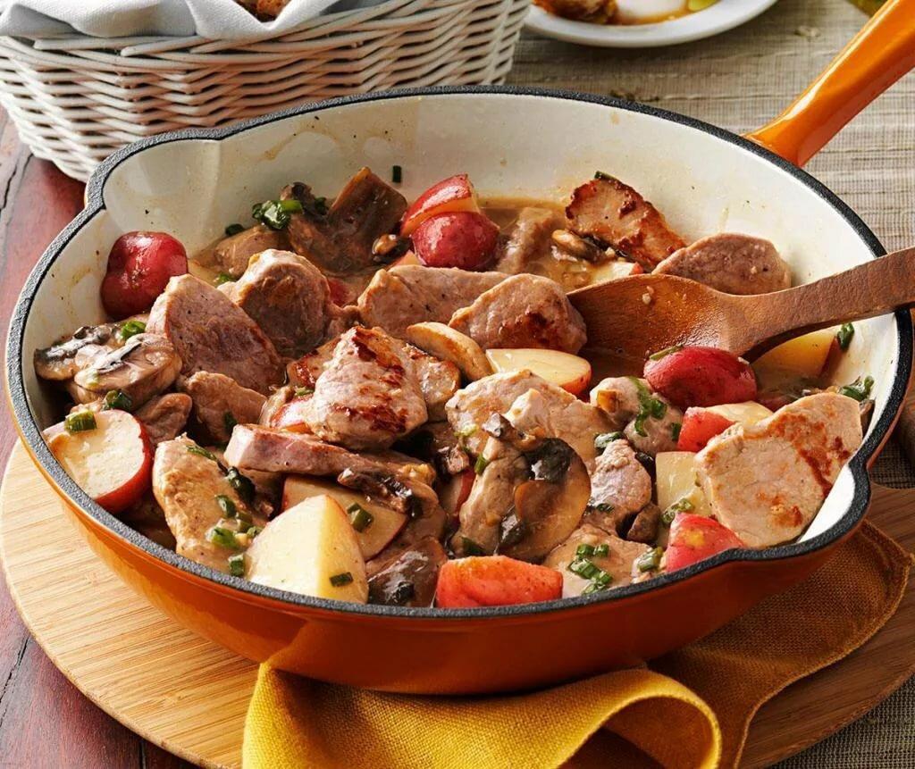 рецепты блюд из мяса с фото простые его
