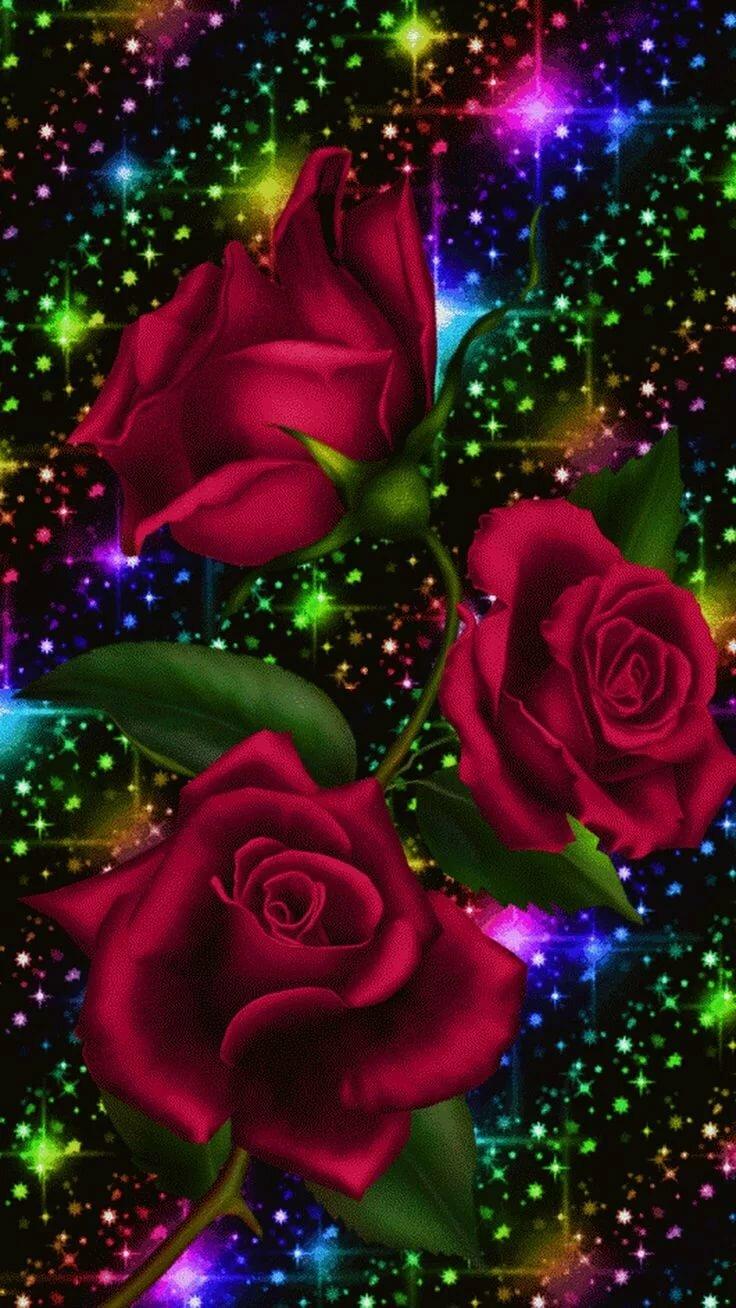 Картинки и анимация роз
