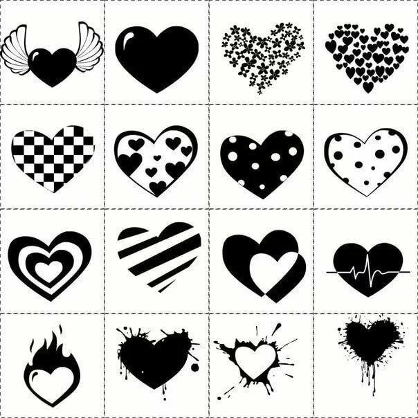 Смешные, прикольные черно белые картинки для лд для распечатки