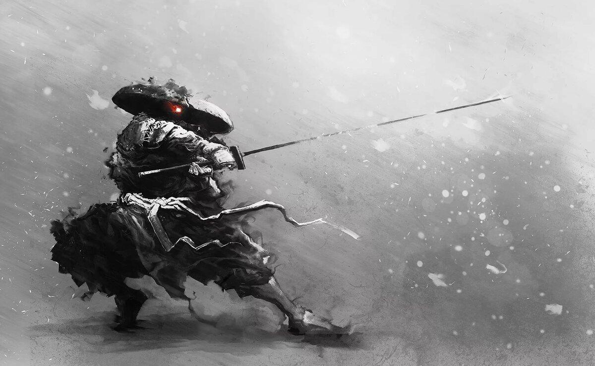 Самурай с мечом картинки высокого качества