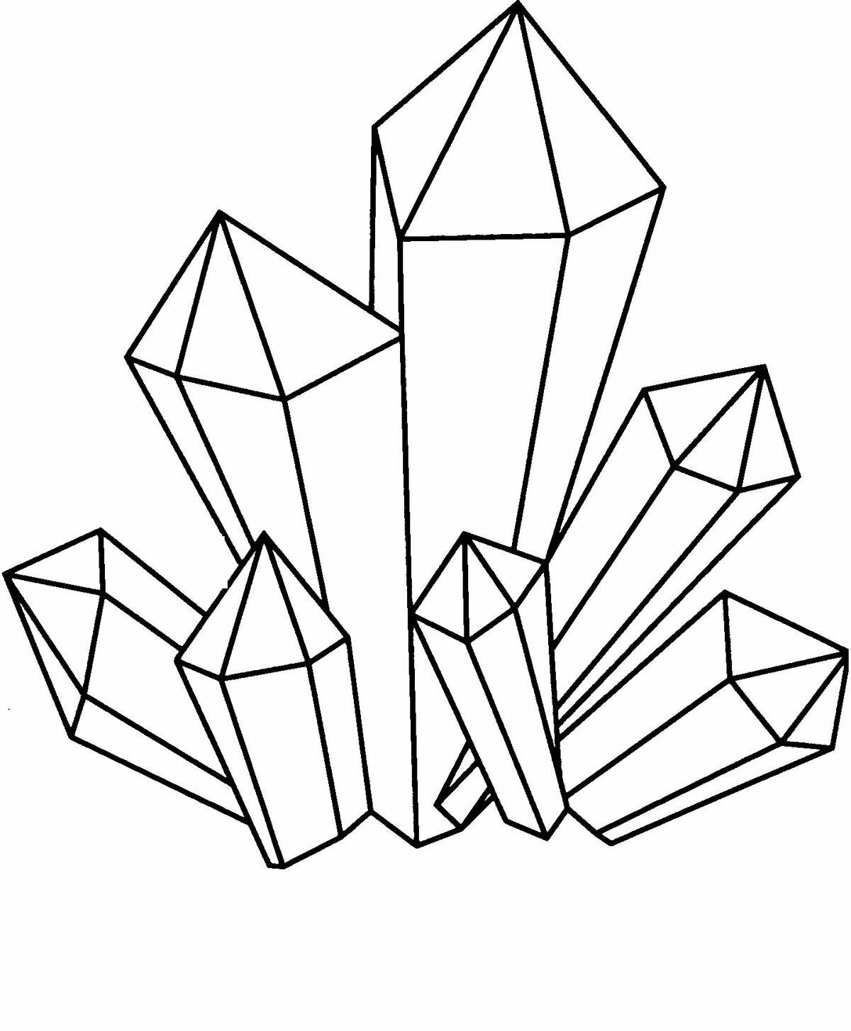 оформил картинки кристаллов поэтапно позволяет работать