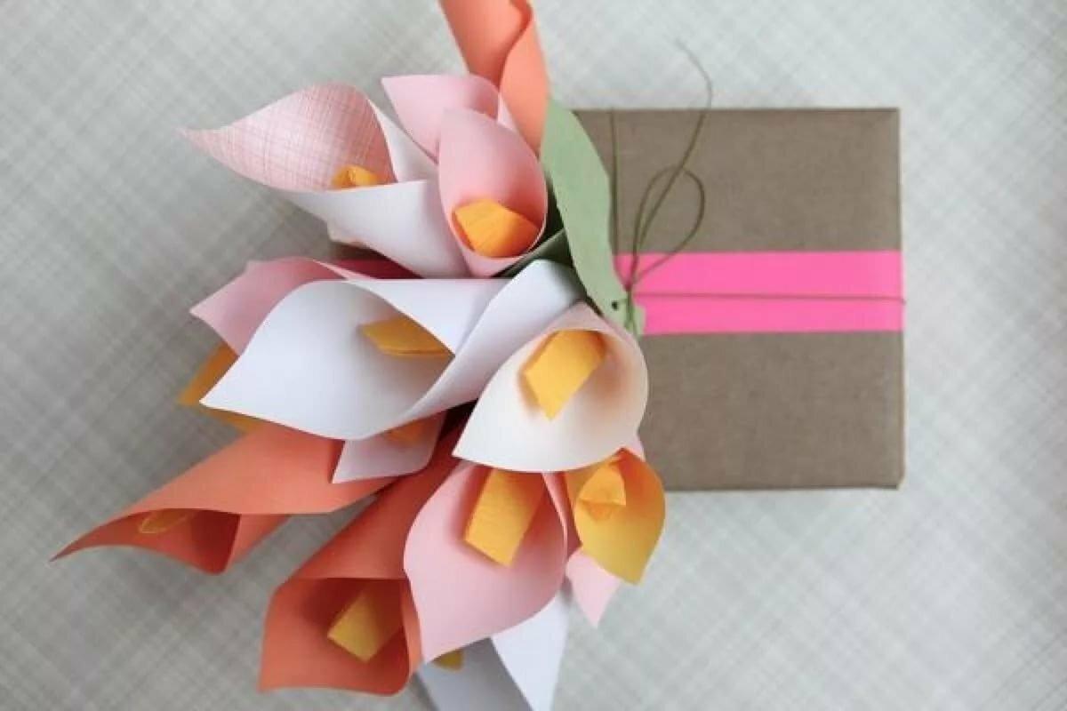 Цветов оптовые, подарок 23 цветы из бумаги