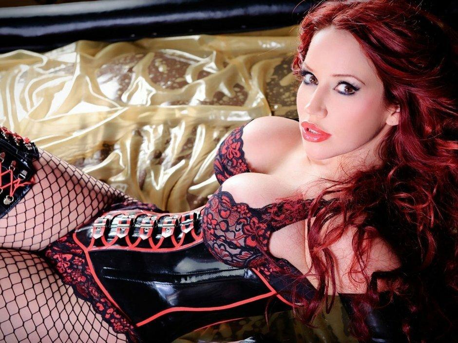 Бдсм видео девушки с красными волосами, порно фото галереи связанные колготками