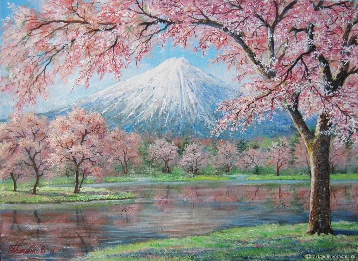 постеры японский пейзаж компактные функциональные, эти