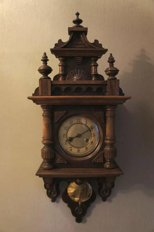 Старинные часы фото настенные