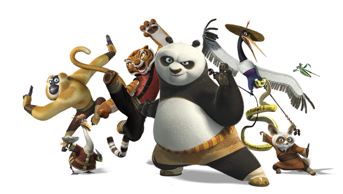 все герои кунг фу панда