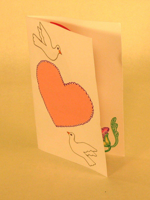Идеи для открытки из картона
