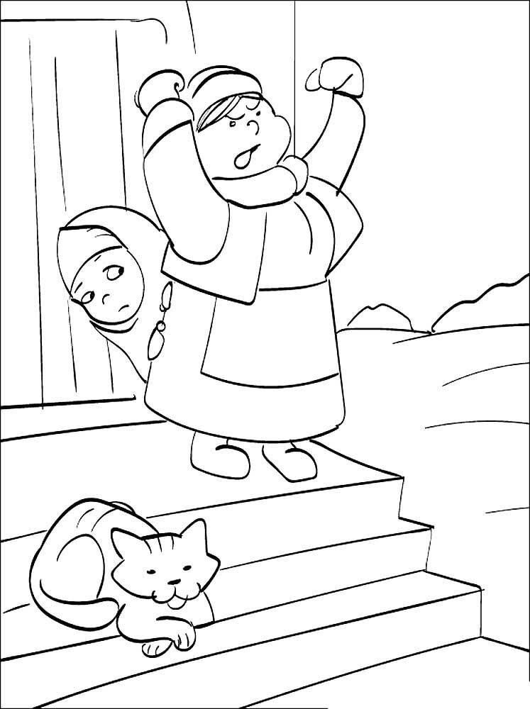 дума картинки карандашами к сказке морозко существуют