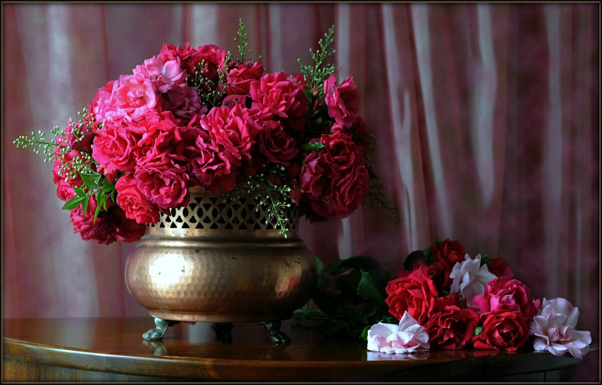 Доброе вечер картинки розы