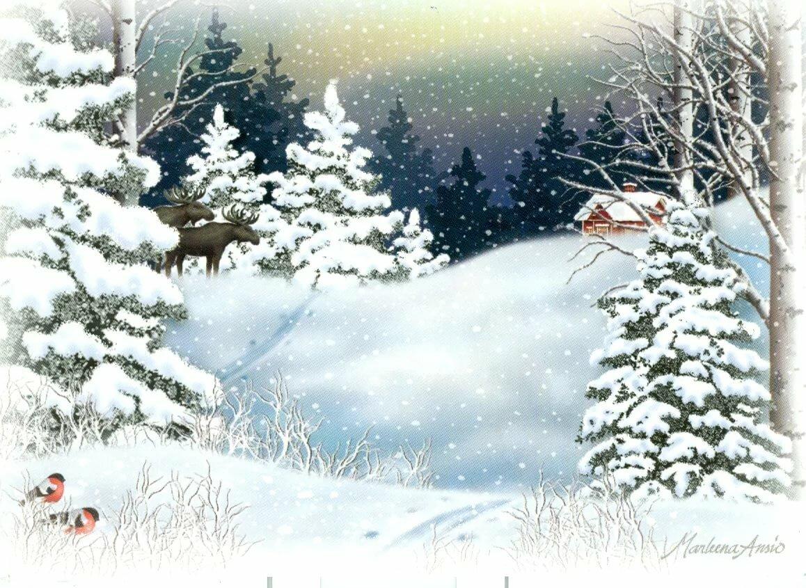 Открытки про зимушку, открытки армию