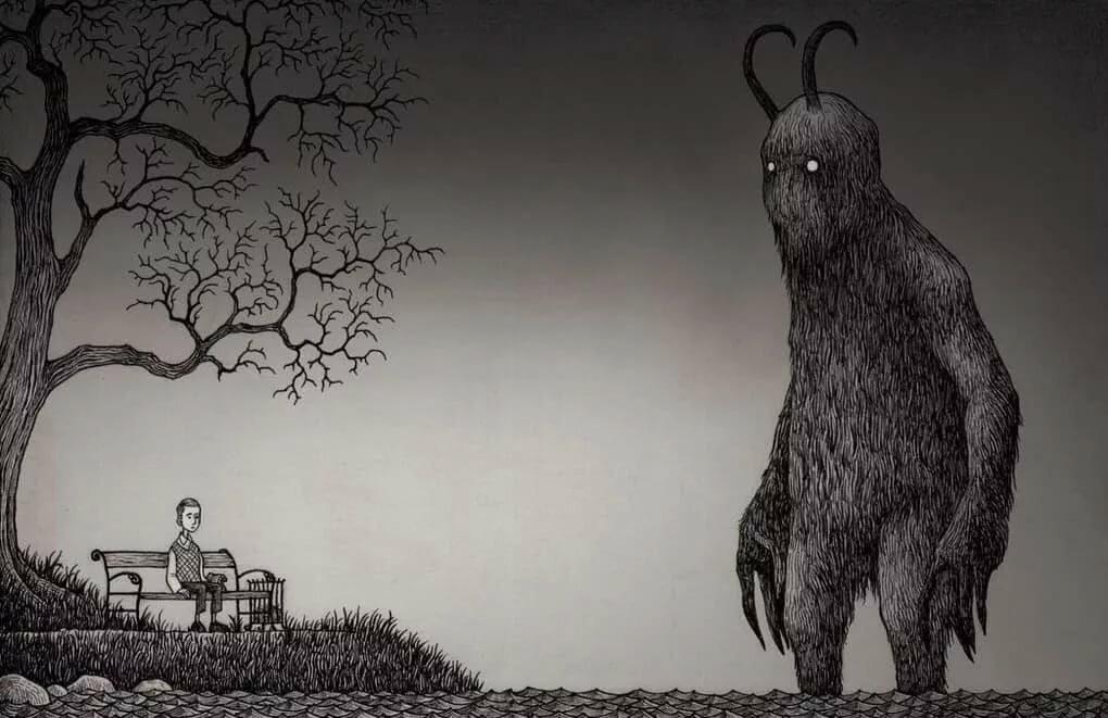 Рисунки и картинки страхов