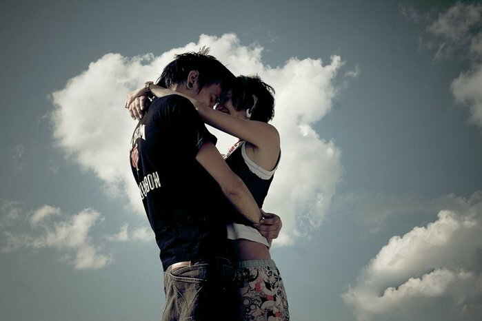 Картинки обнимашки парень с девушкой красивые с надписями
