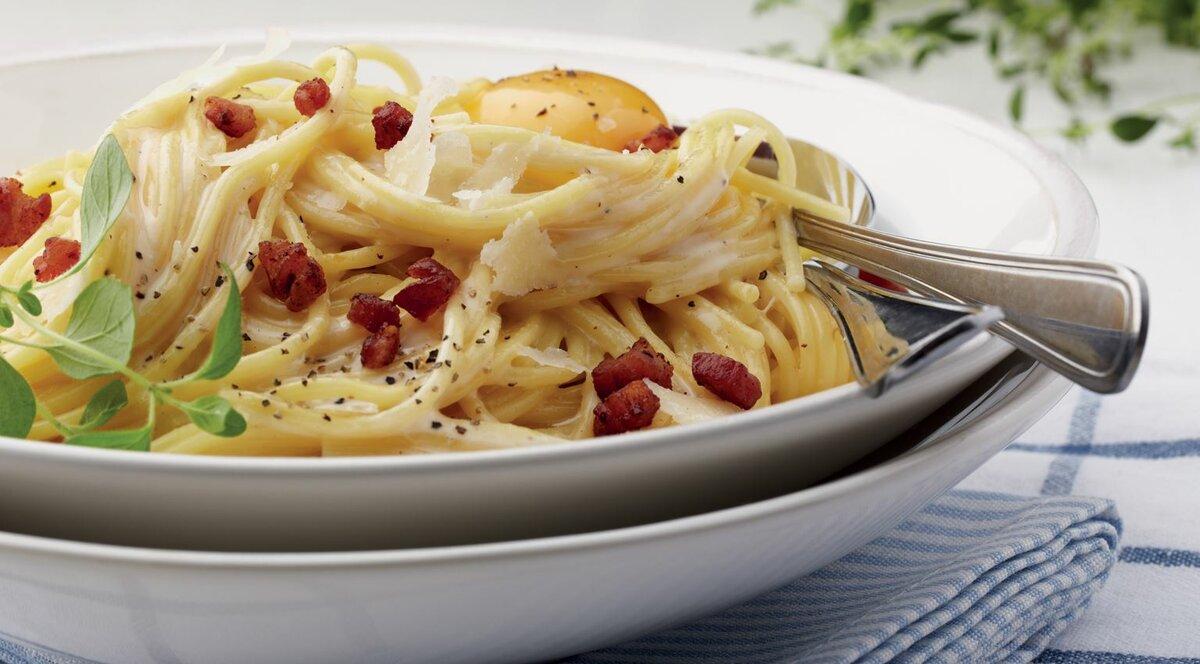 Спагетти карбонара рецепт с фото в домашних