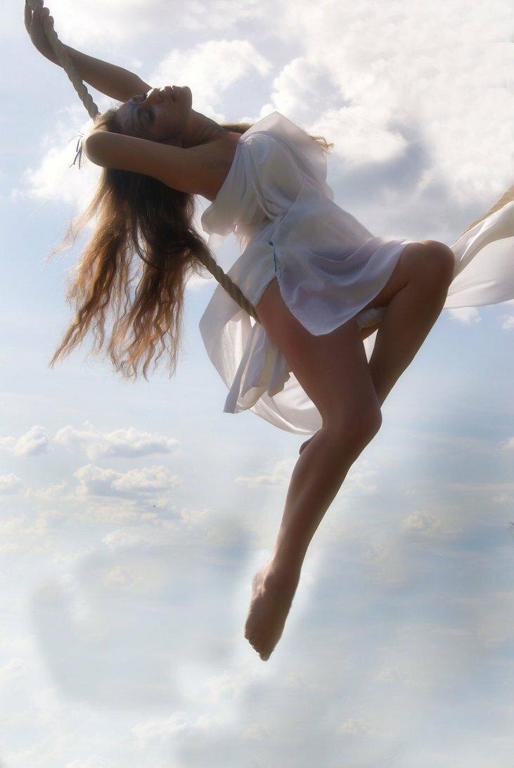 Картинки танцующих на облаках