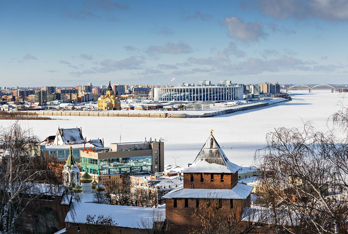 фото зимнего нижнего новгорода наше
