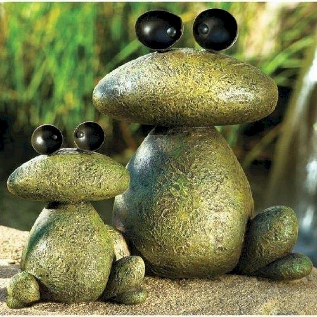 Risultati immagini per sapos pintados en piedras