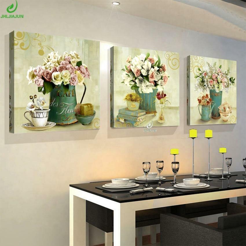 Постеры с цветами для кухни