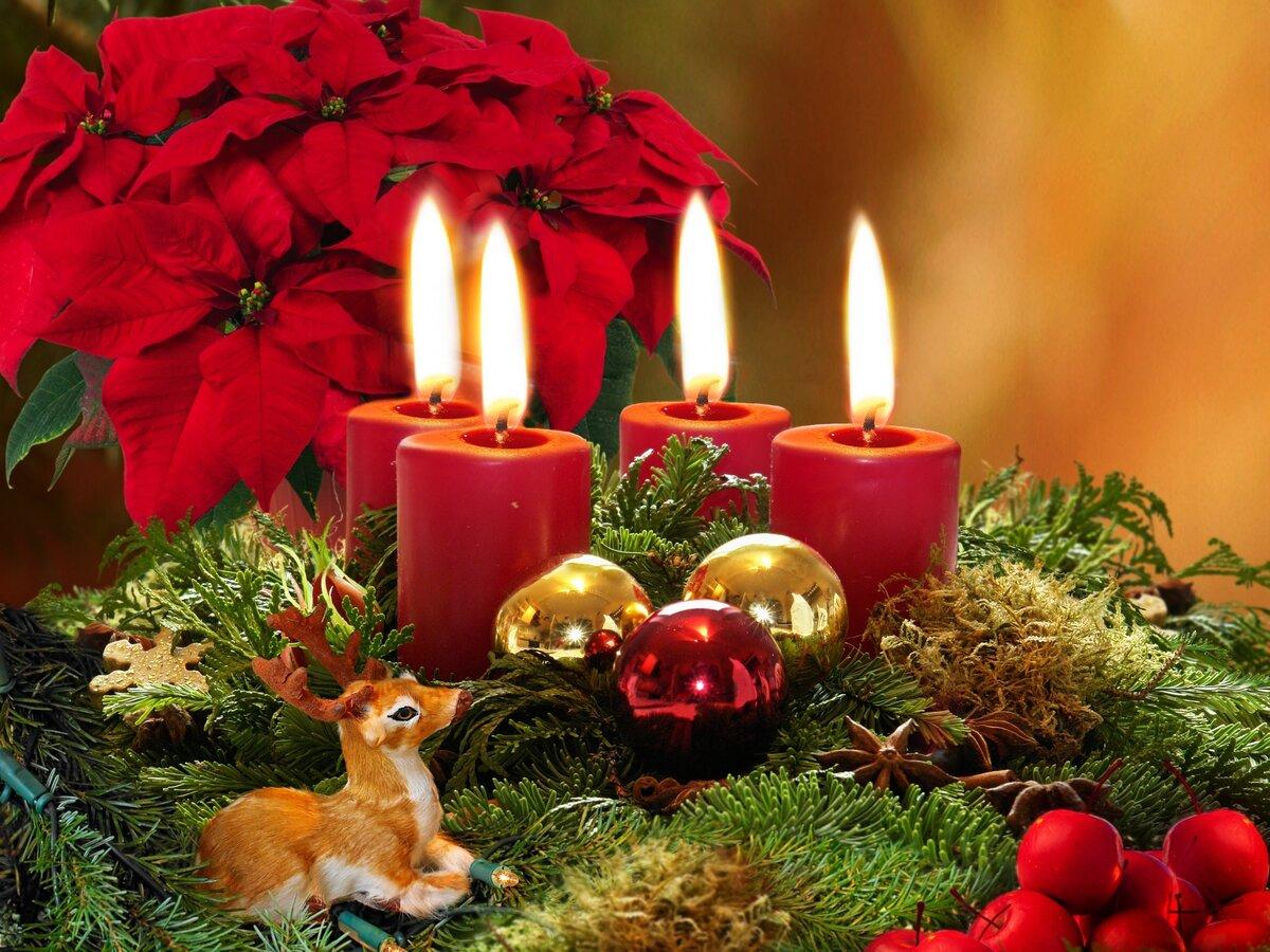 Днем, красивые открытки на новый год и рождество