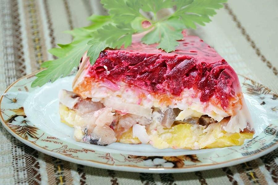 салат под шубой рецепт с фото пошагово выбору