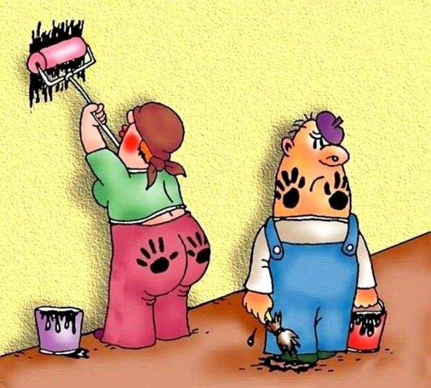Прикольные открытки про ремонт квартиры