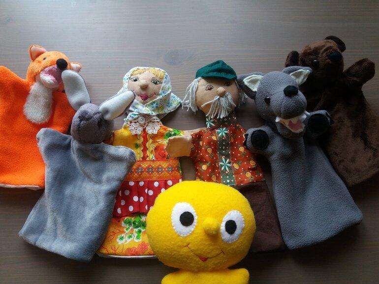 солнце кукольный театр картинки к сказке колобок которое