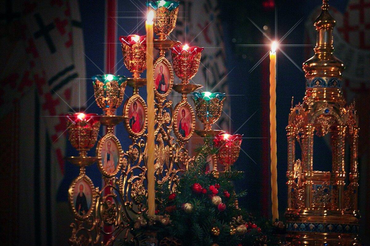 Новогодние картинки православные