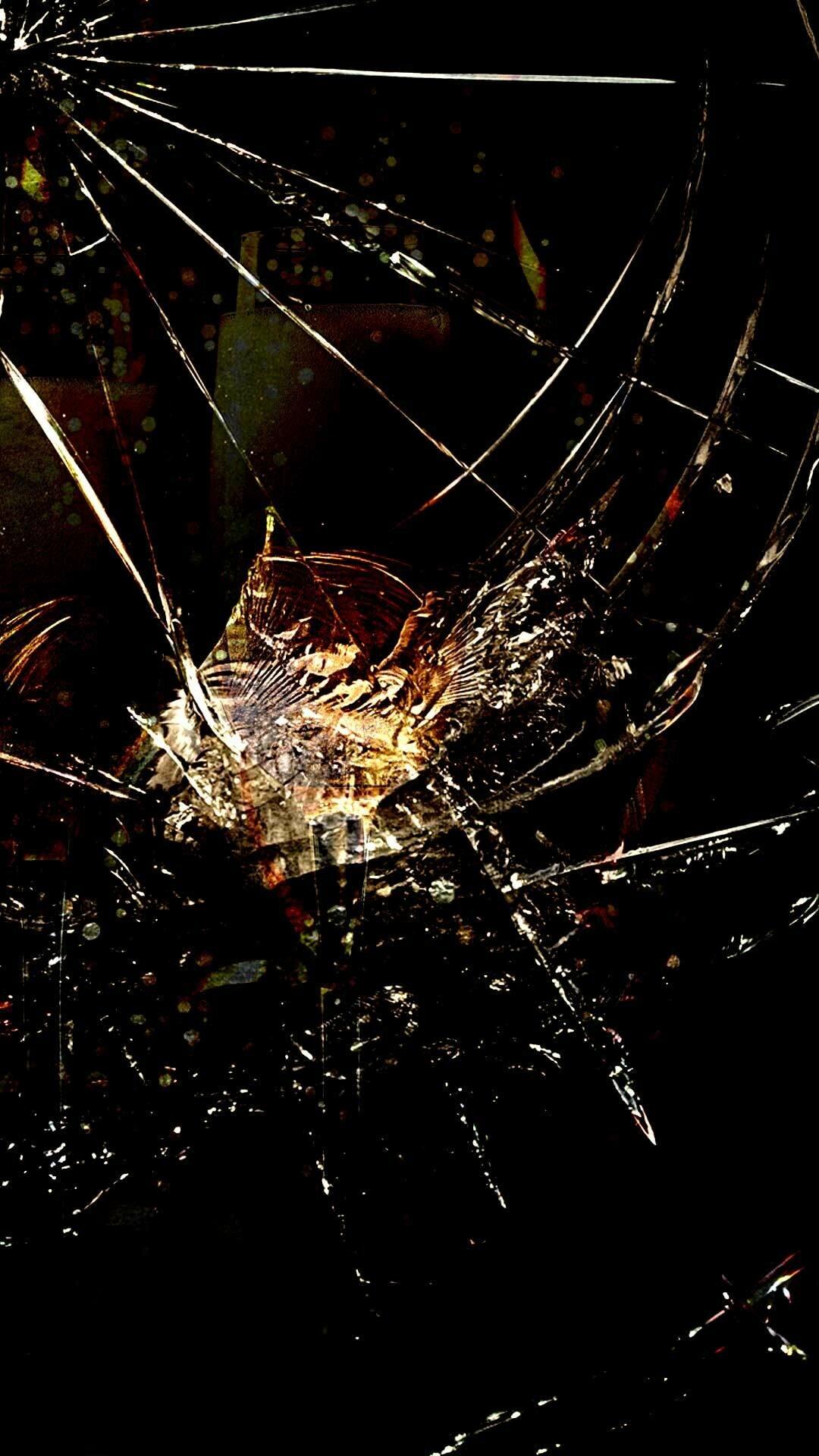картинки разбитого дисплея идеально вписывается